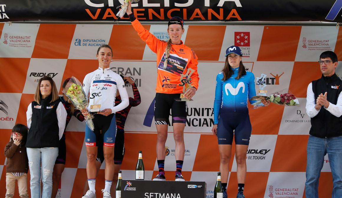 Hannah Barnes se adjudica la última etapa y la Setmana Valenciana