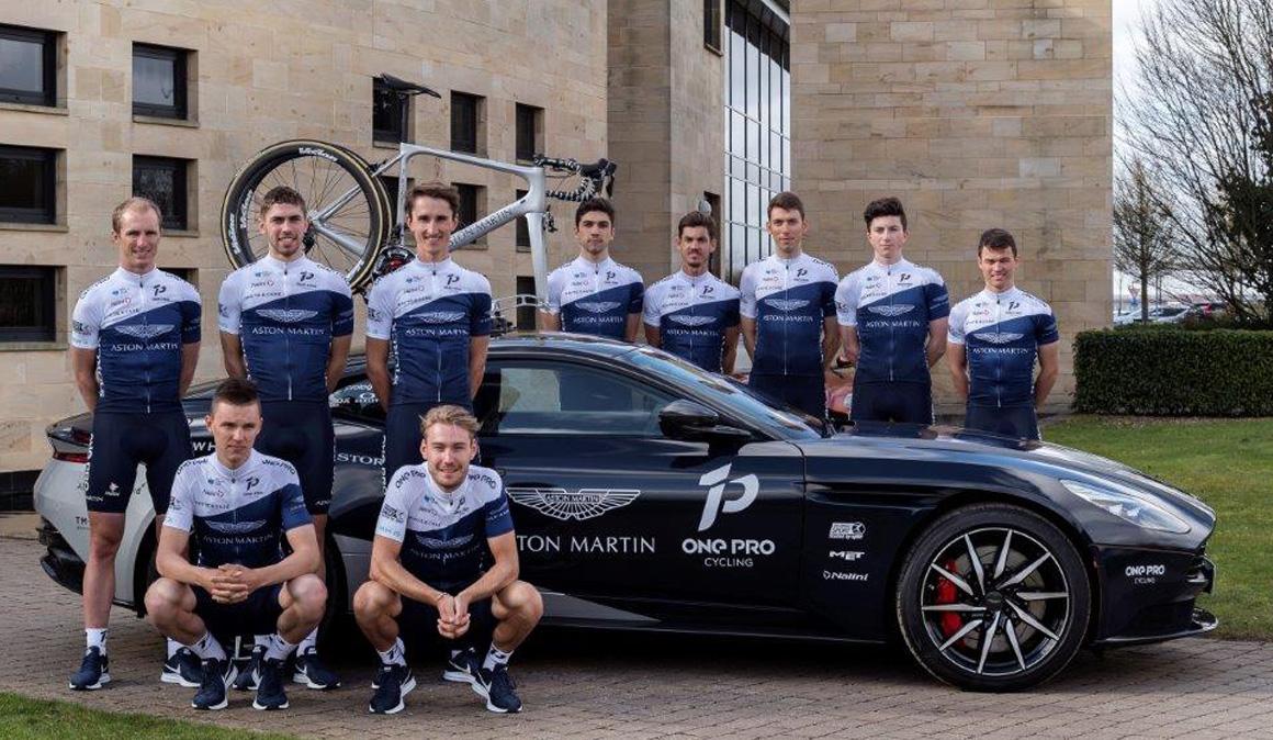 Aston Martin se asocia con el equipo inglés One Pro Cycling