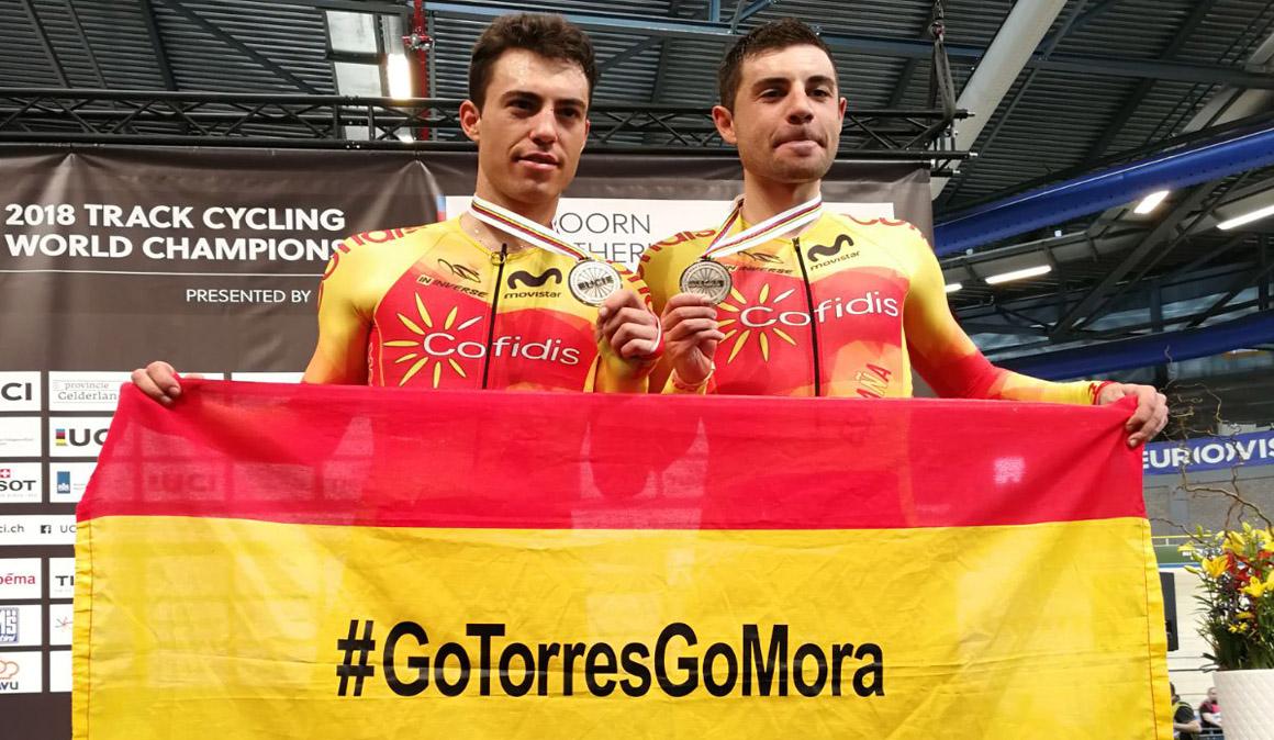 Torres y Mora competirán en la gran final de Six Day Mallorca