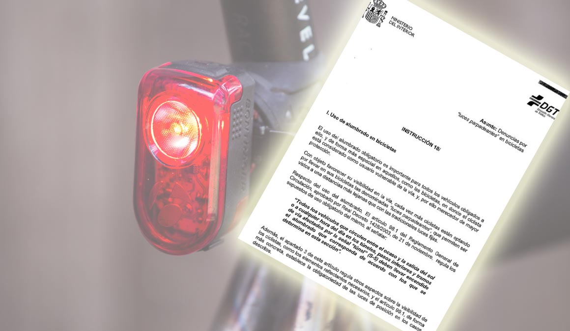 La DGT firma una instrucción para no multar las luces rojas intermitentes