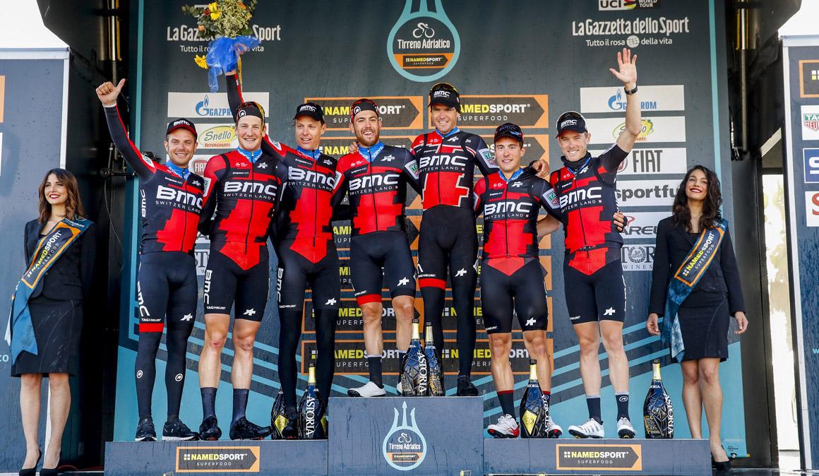 Caruso y el BMC golpean primero en la Tirreno-Adriático