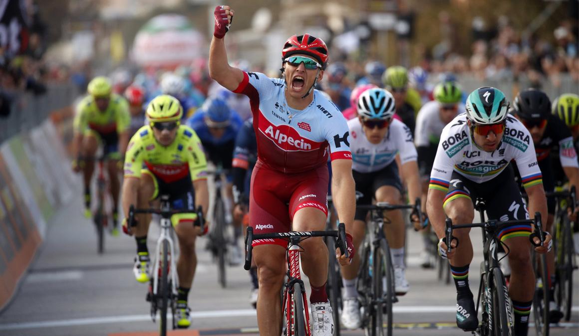 Tirreno-Adriático: Kittel se estrena con Katusha; Bevin, nuevo líder