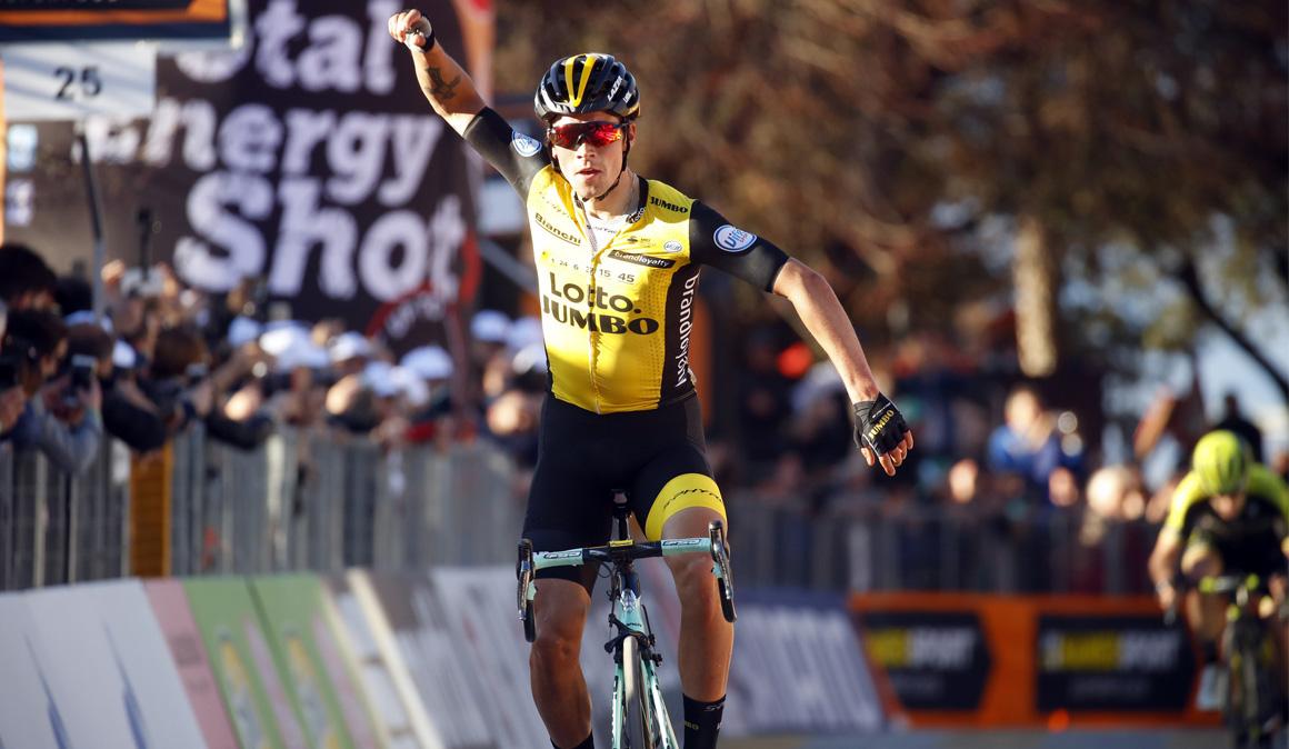 Tirreno-Adriático: Roglic se impone en Trevi y Thomas se viste de líder