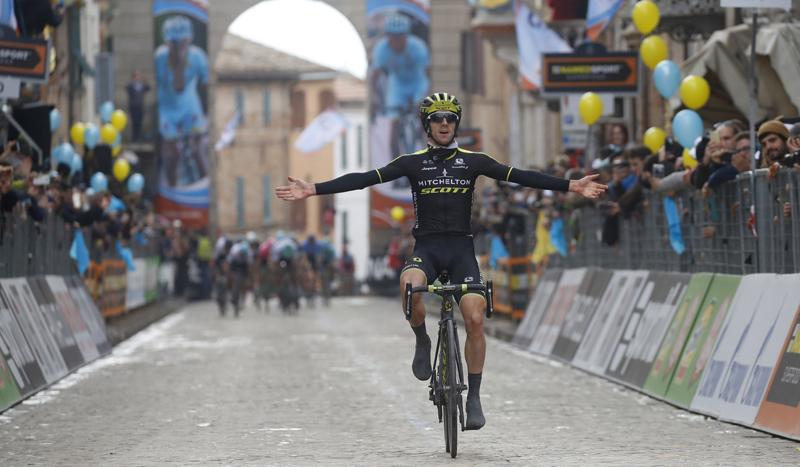 Michal Kwiatkowski, nuevo líder de la Tirreno-Adriático