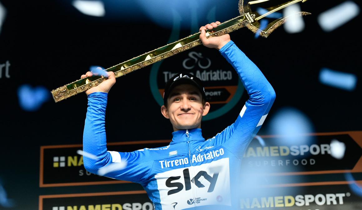 Kwiatkowski conquista la Tirreno-Adriático