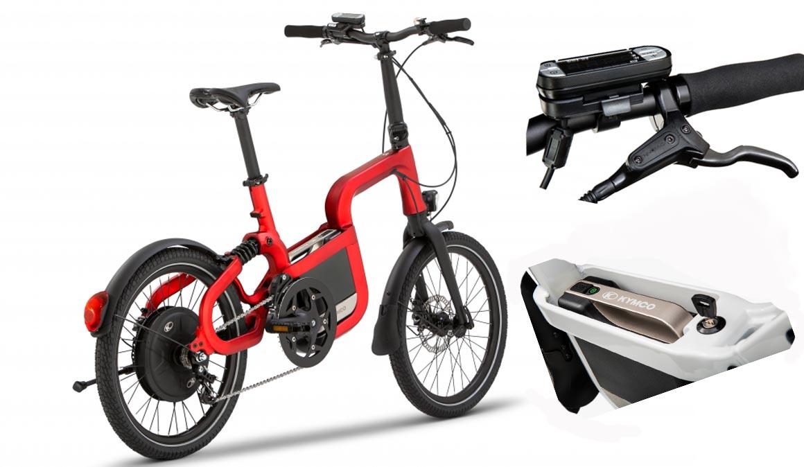La bicicleta urbana eléctrica de KYMCO