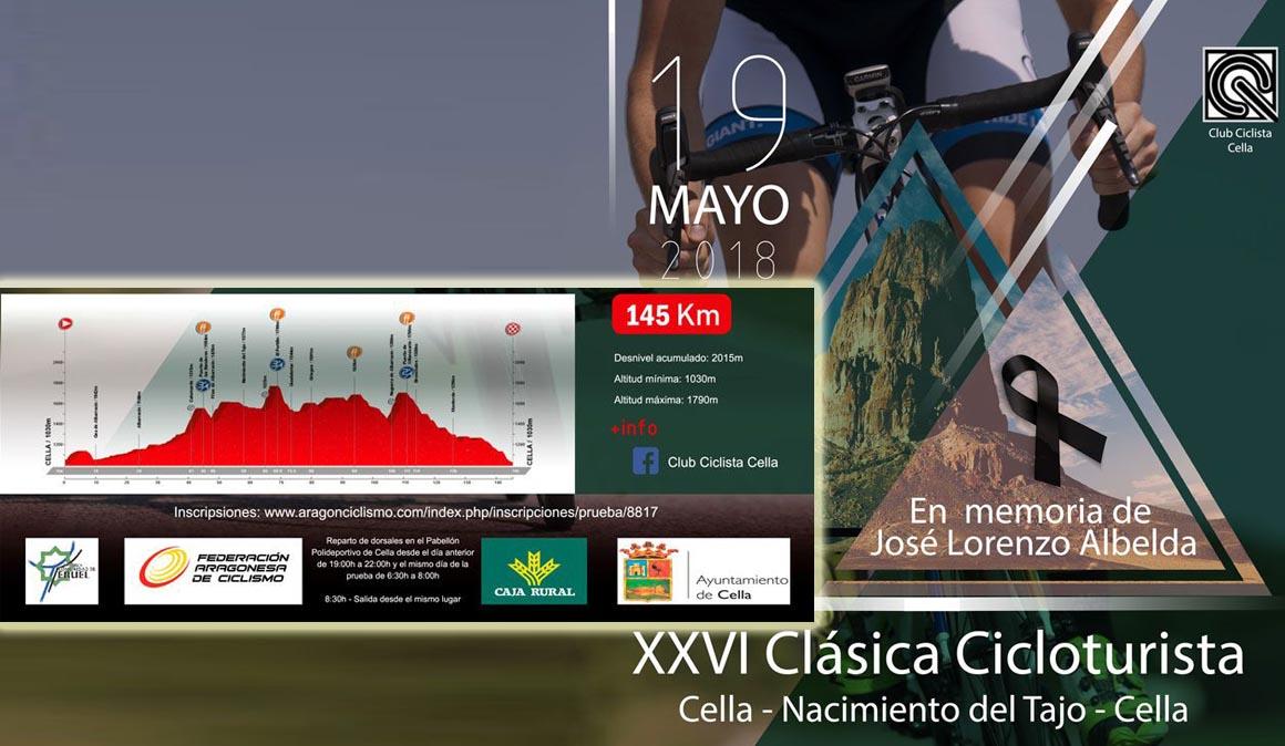 XXVI Marcha Cicloturista Cella-Nacimiento del Tajo