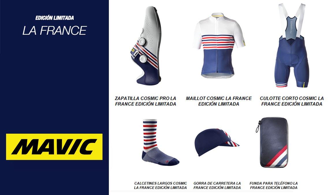 Edición limitada equipamiento Mavic La France