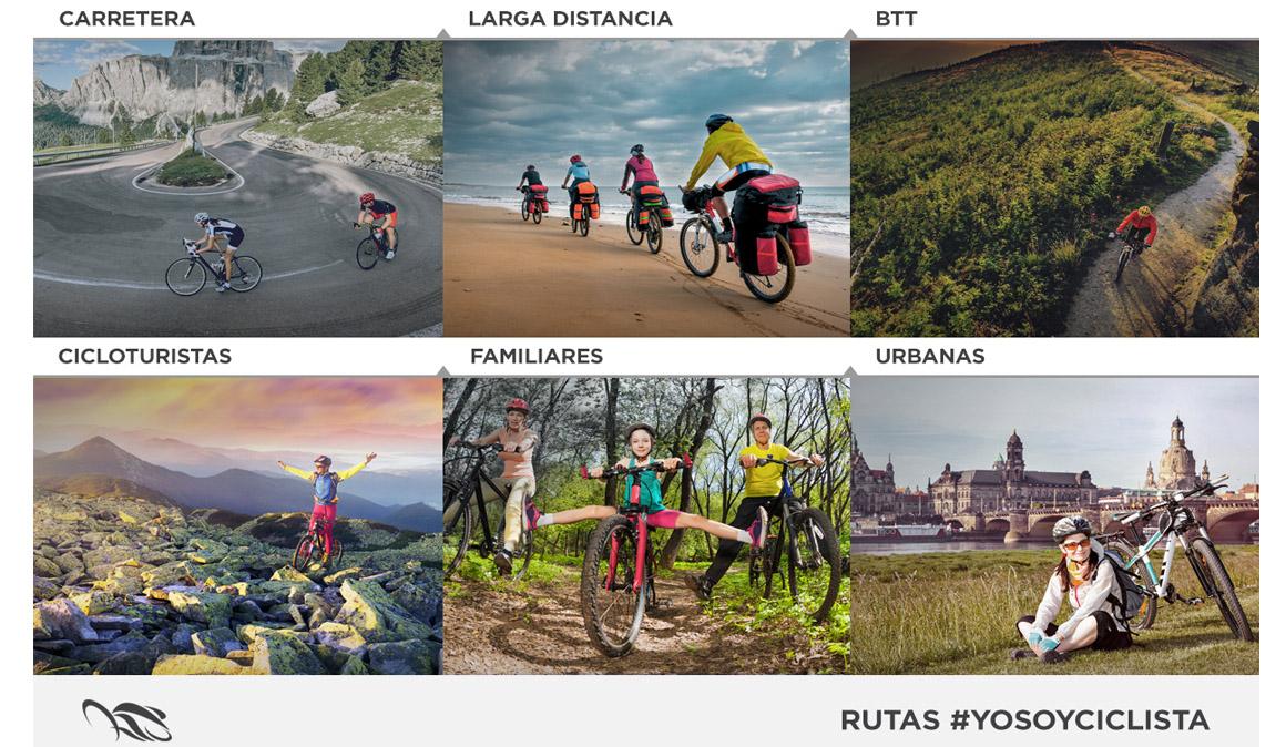 Nacen las Rutas en Bici Yo Soy Ciclista