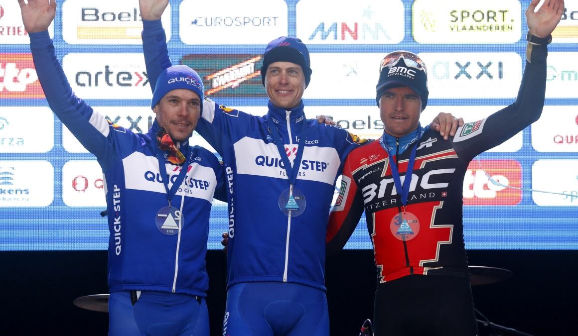Terpsta gana en solitario la E3 Harelbeke… con la ayuda de Gilbert