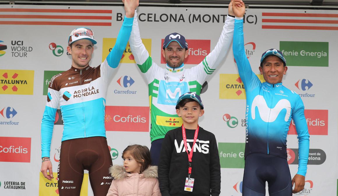 Alejandro Valverde conquista su tercera Volta a Catalunya