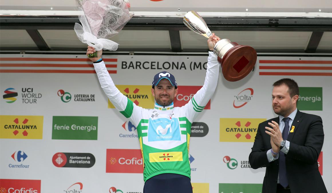 Valverde, gran dominador en 2018