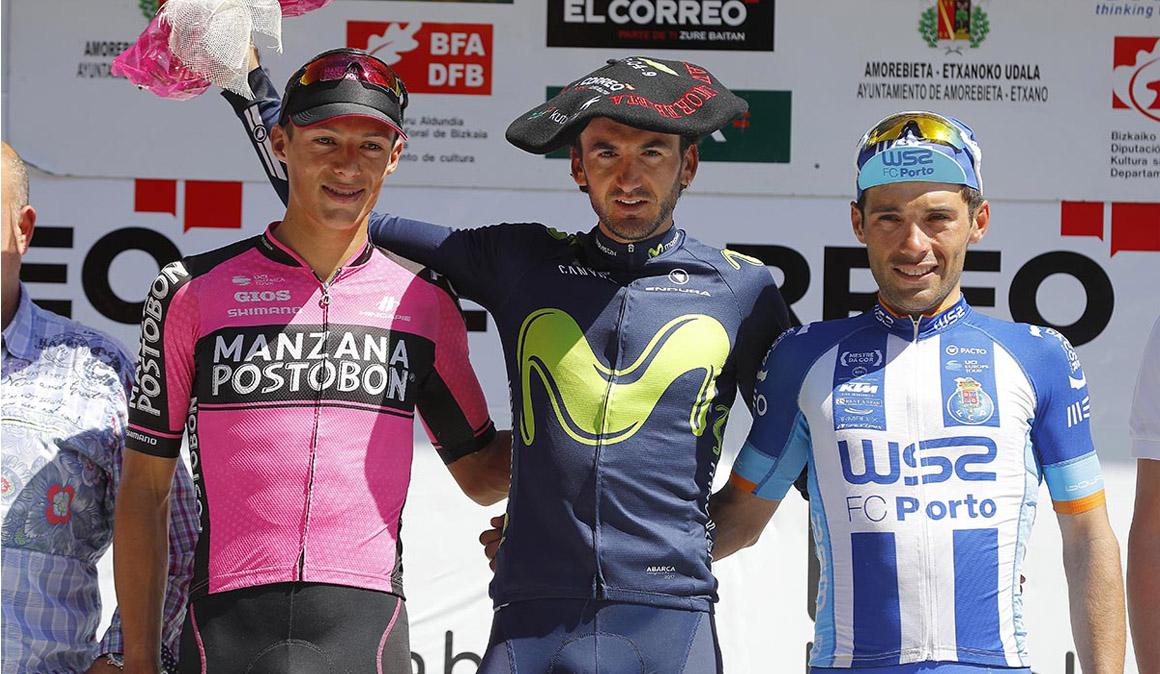El Movistar y Valverde favoritos en una Klasika Primavera que recupera Autzagane