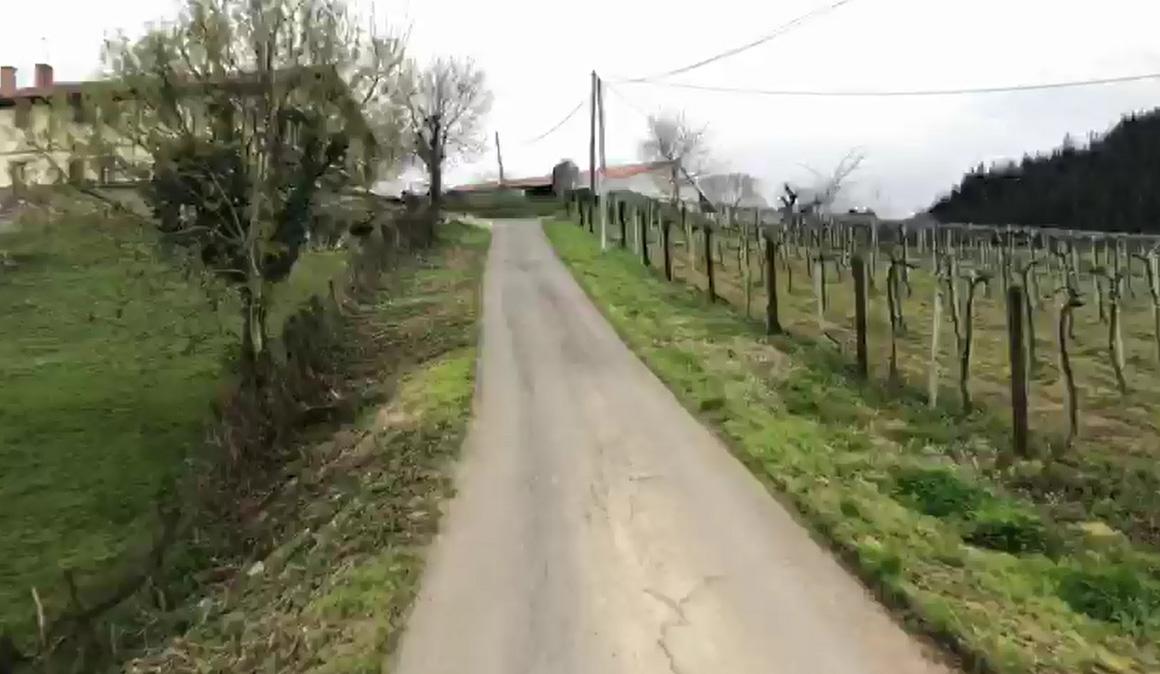 Vídeo: Así es Elkano Gaina, el muro que puede decidir la 1ª etapa de la Itzulia