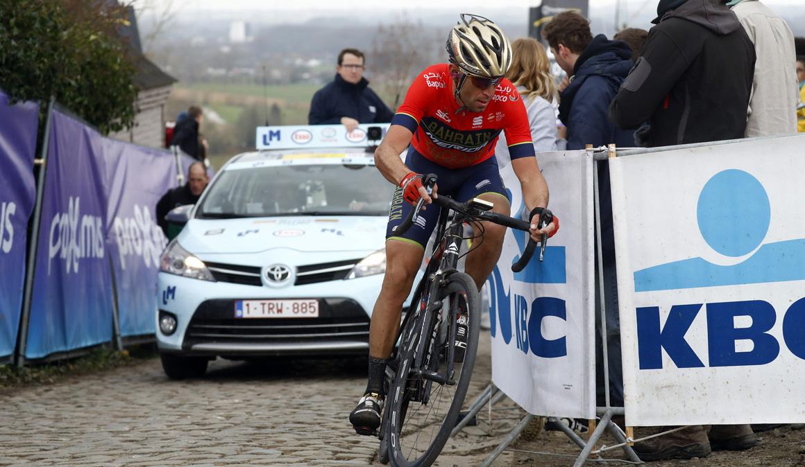 El largo periplo de Nibali desde Flandes hasta Zarautz