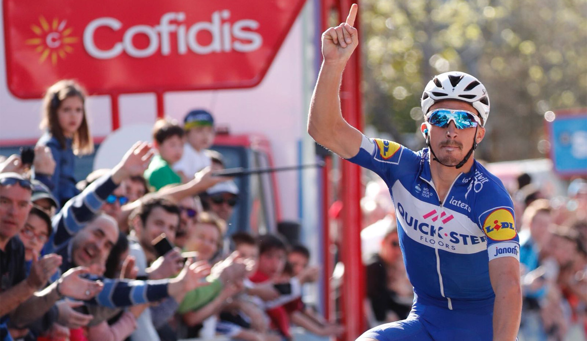 Vuelta al País Vasco: Alaphilippe gana; Roglic toma posiciones
