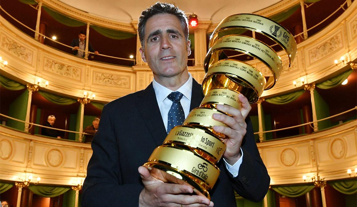 Miguel Induráin ingresa en el Salón de la Fama del Giro