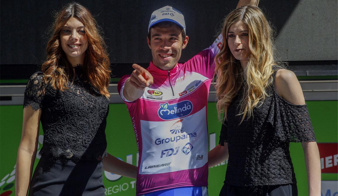 Sosa se cae y Pinot es el nuevo líder del Tour de los Alpes
