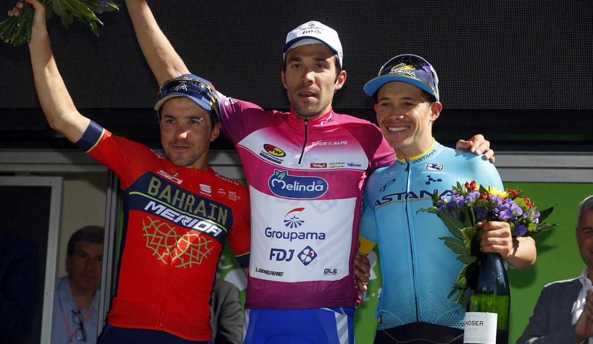 Thibaut Pinot gana, al ataque, el Tour de los Alpes