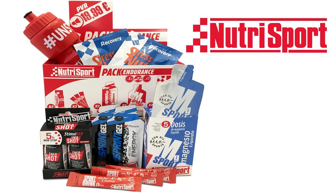 Nutrisport lanza su Pack Endurance