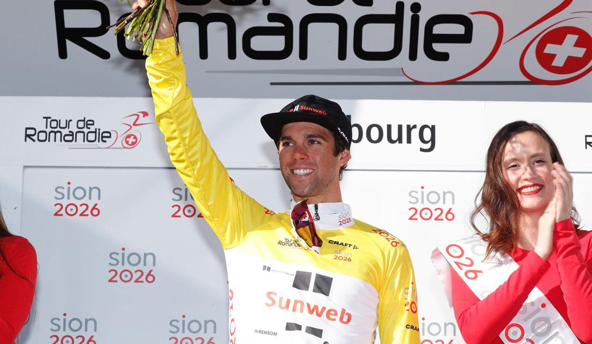 Michael Matthews, primer líder del Tour de Romandía