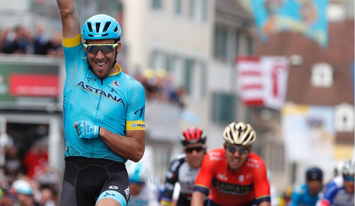 Tour de Romandía: Omar Fraile sorprende al sprint
