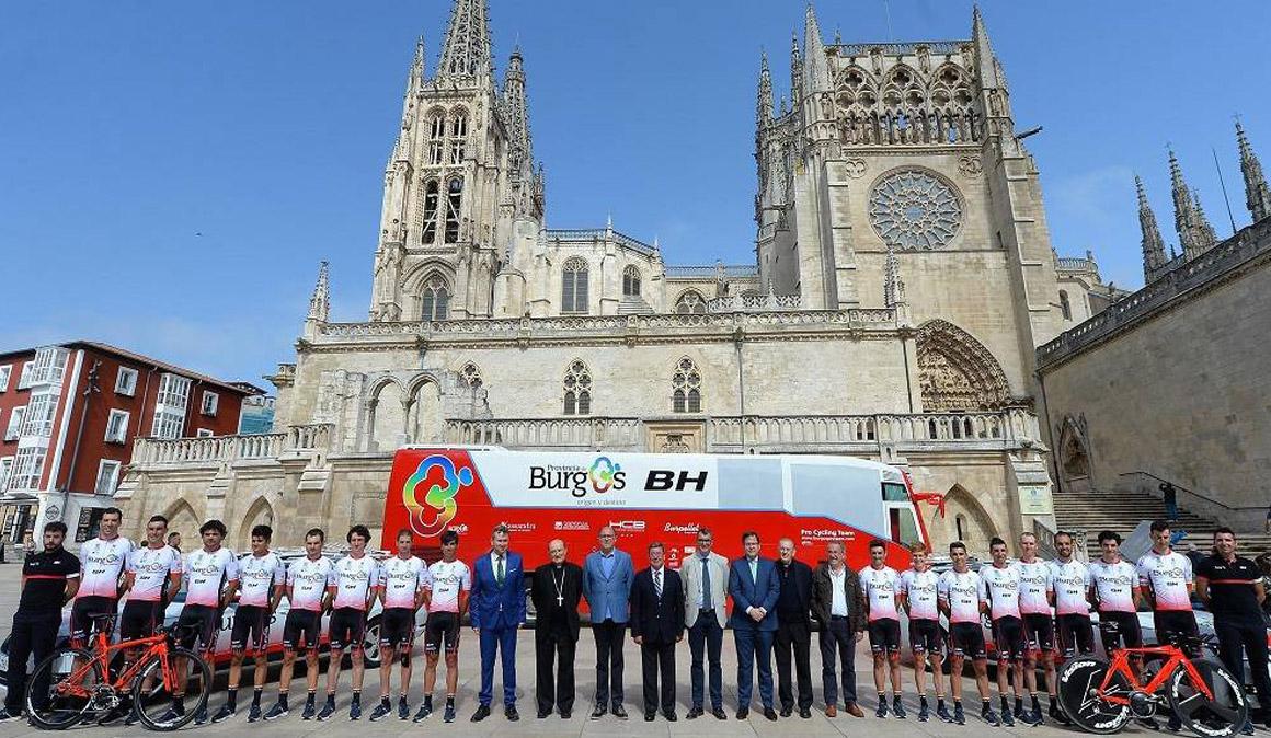 Puesta de largo del Burgos-BH pensando en la Vuelta
