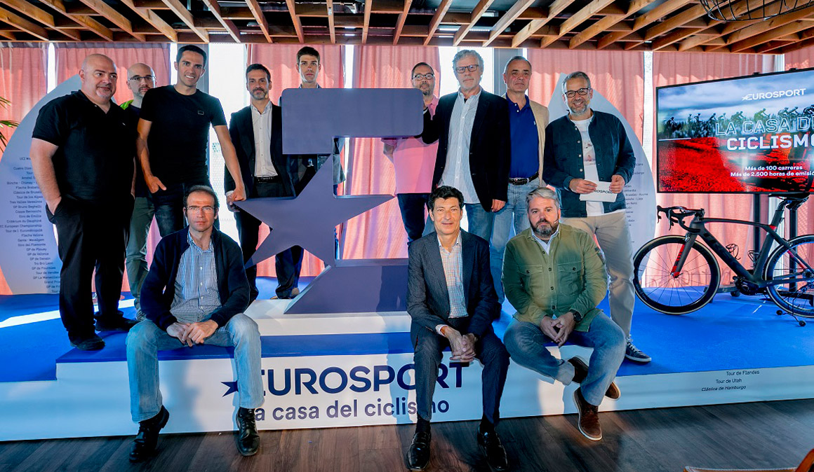 Eurosport presenta su cobertura ciclista para 2018