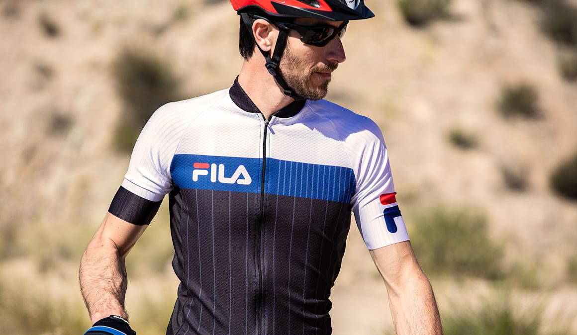 La nueva equipación de Fila específica para ciclistas
