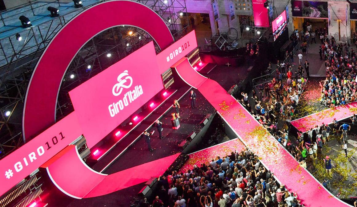 Giro de Italia: crono de 9,7 km en Jerusalén para abrir boca
