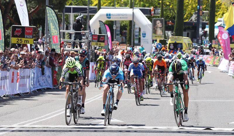 Nelson Soto estrena al Caja Rural en 2018 ganando en la Vuelta a Madrid
