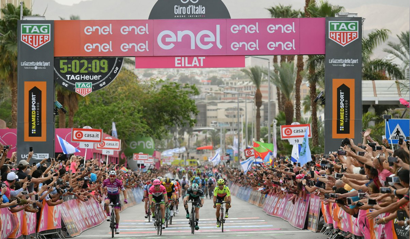 Viviani repite victoria etapa en Eilat