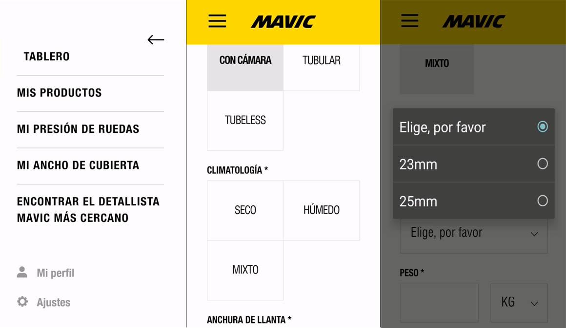 Aplicación My Mavic