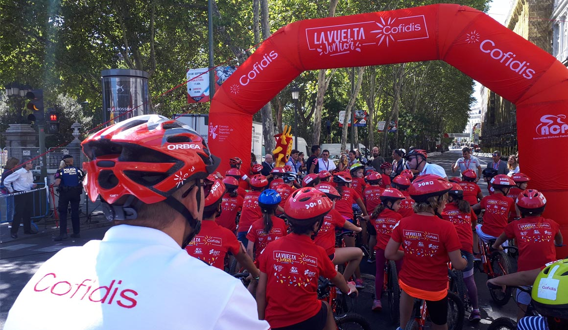 La Vuelta Junior Cofidis en Torrelavega