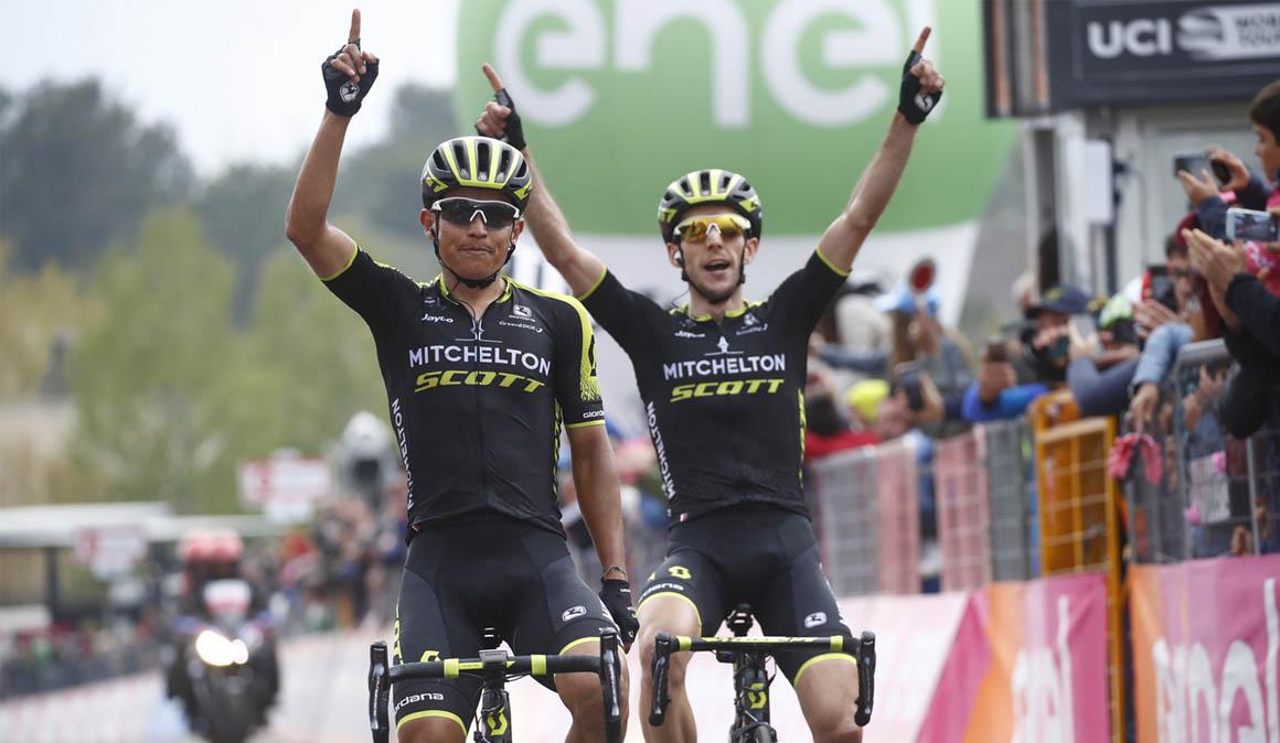 Giro de Italia 6ª etapa: Chaves levanta los brazos y Yates el rosa