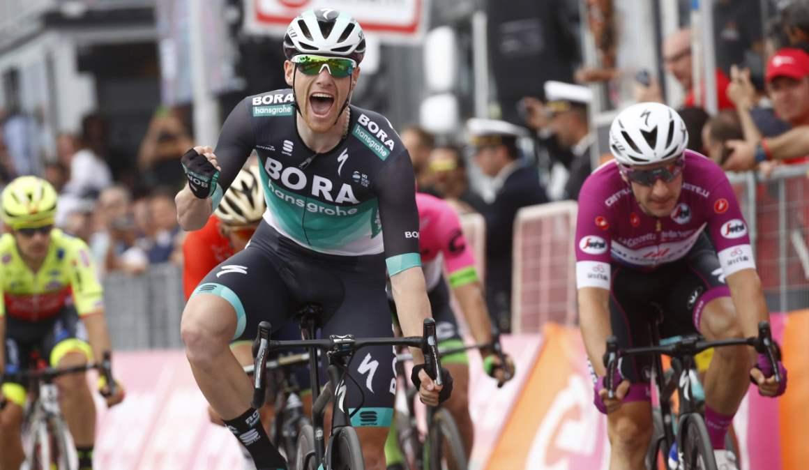 Giro de Italia 7ª etapa: Sam Bennett por delante de Viviani