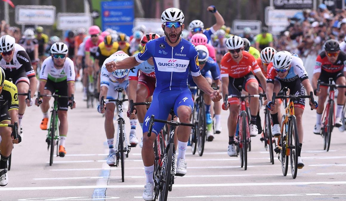 Etapa 1, Amgen Tour de California, Gaviria a lo grande
