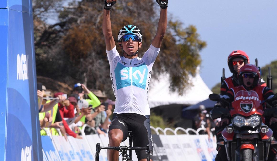 Egan Bernal se exhibe de nuevo en la etapa reina del Tour de California