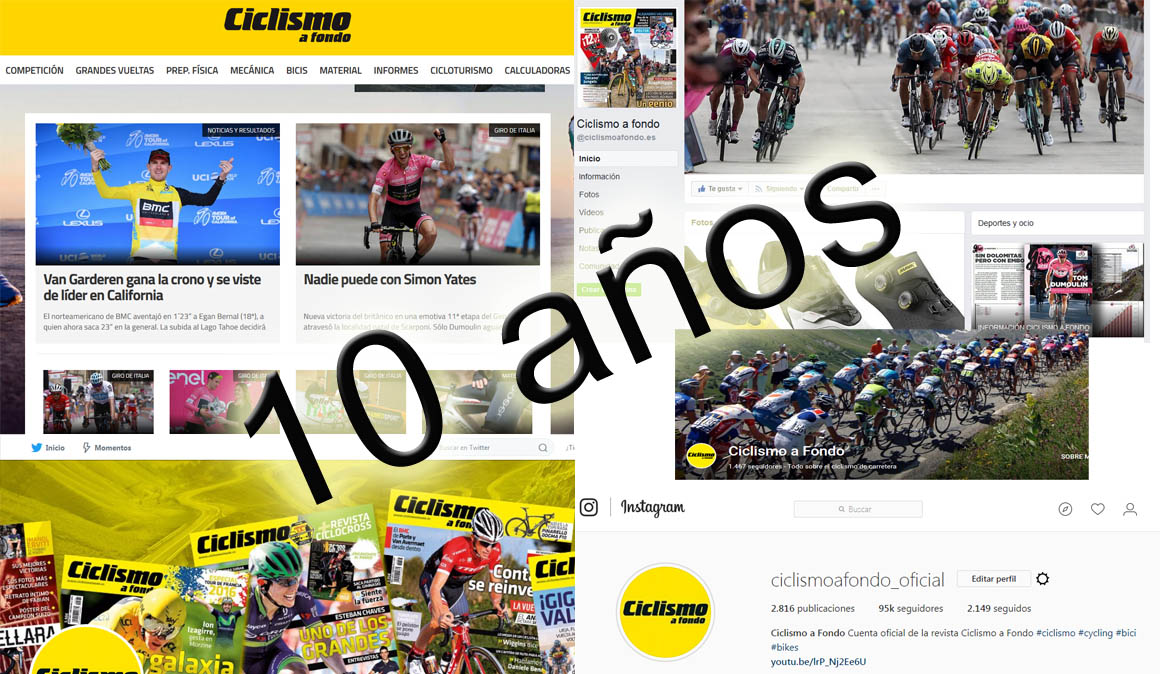 Se cumplen 10 años de Ciclismoafondo.es