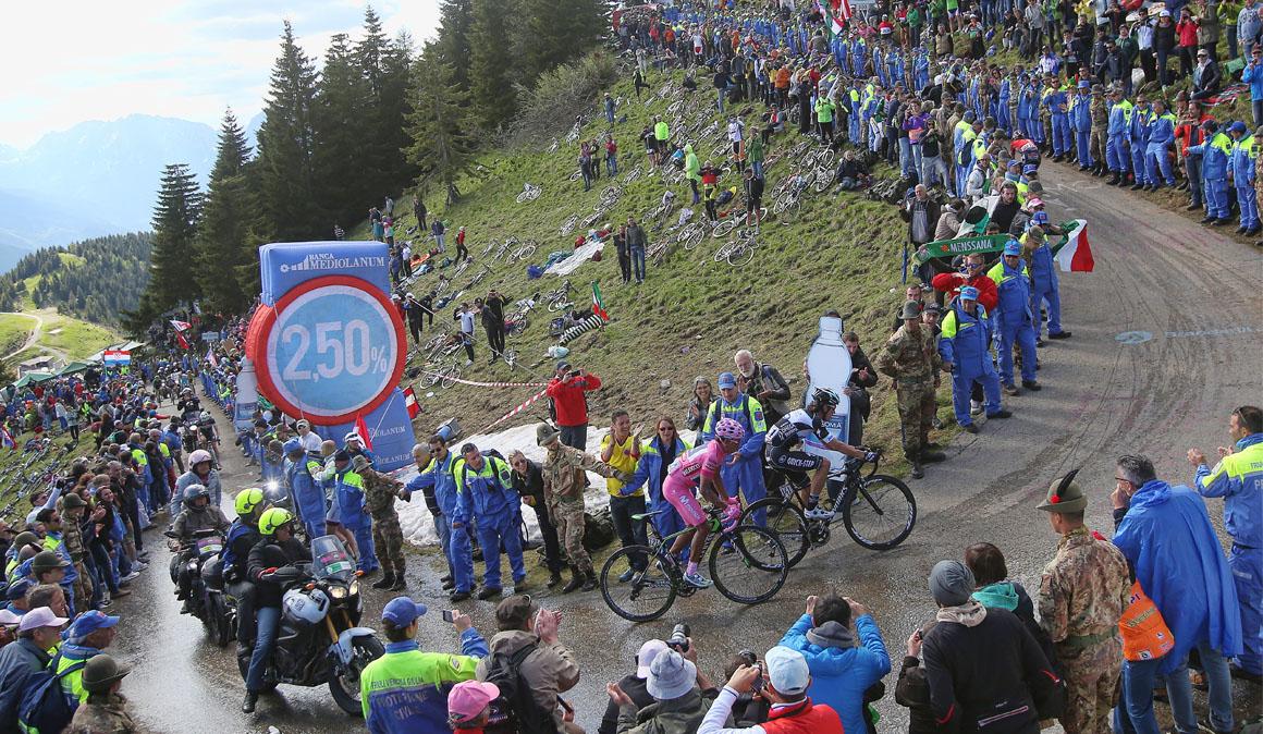 El Zoncolan marca un fin de semana clave para el Giro