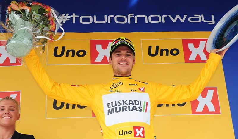 Edu Prades, ganador de la Vuelta a Noruega