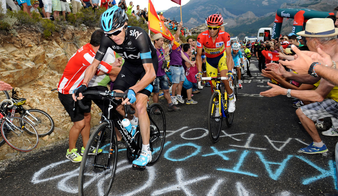 La Camperona, el final en alto más popular de La Vuelta 2018