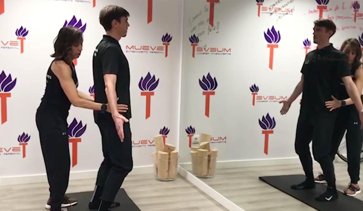 Aprende hipopresivos con Dori Ruano