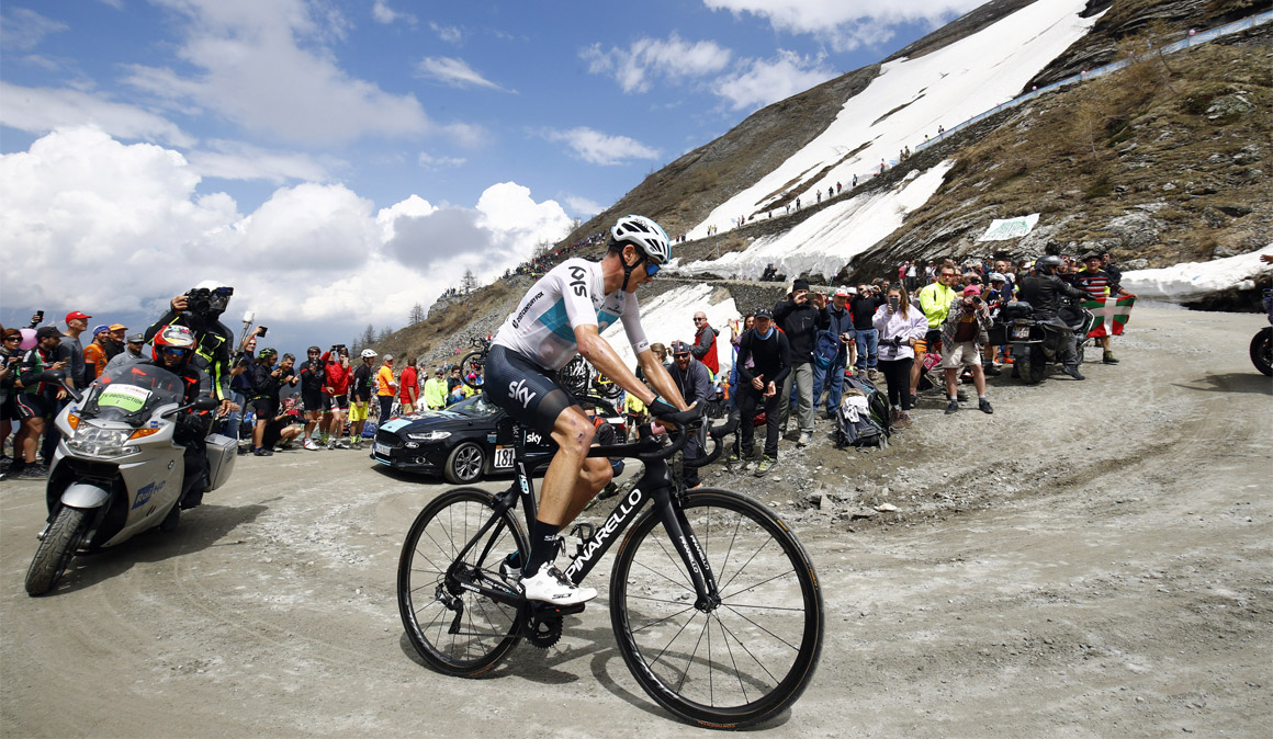 """Froome: """"Había que hacer una locura para aspirar a ganar el Giro"""""""