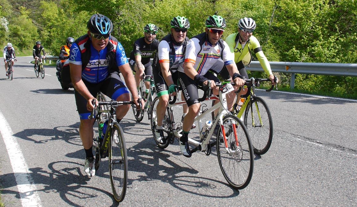 Fotos de la 1ª marcha cicloturista De Armas Tomar