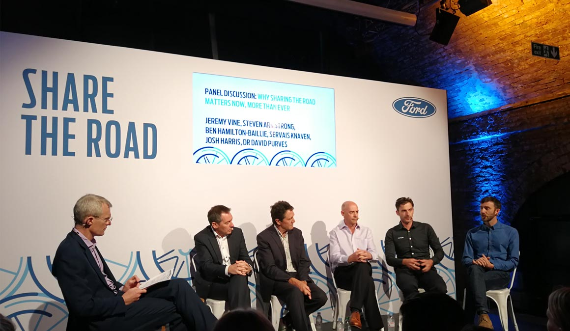 Share the Road de Ford: convivencia en la carretera
