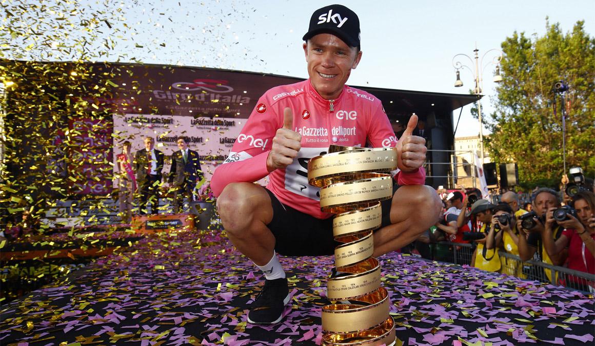 Chris Froome vuelve a liderar el UCI World Ranking