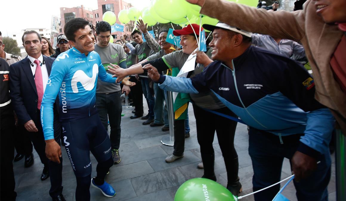 """Richard Carapaz vuelve a Ecuador después de vivir un Giro """"brutal"""""""