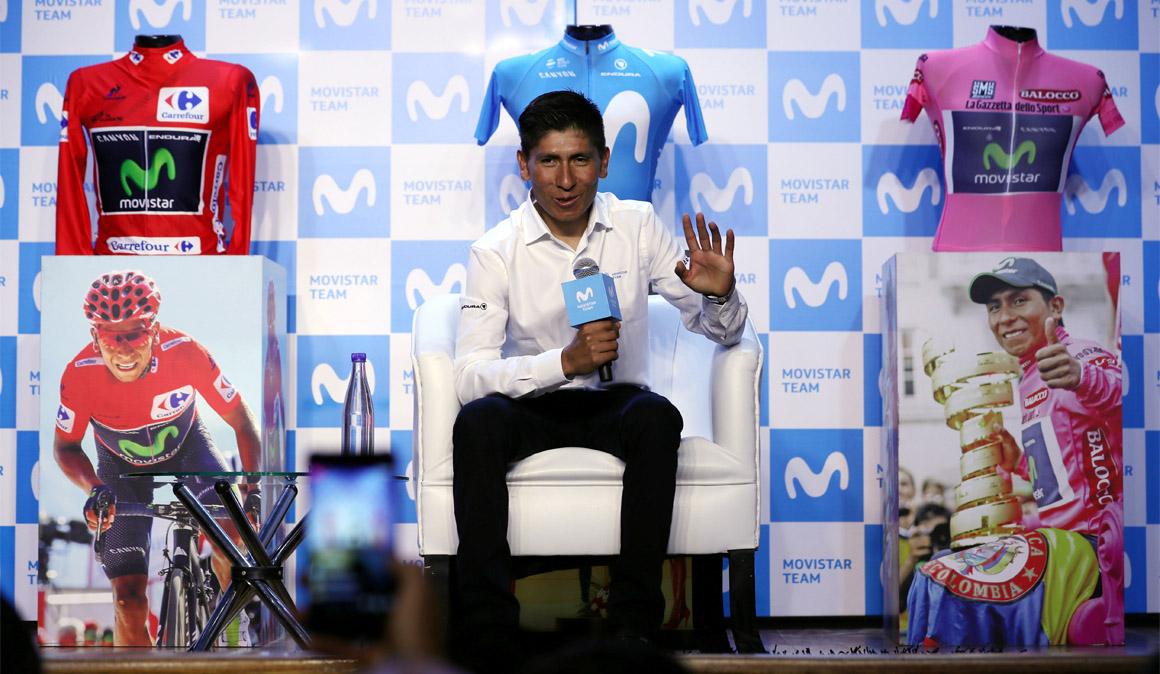 """Nairo: """"Estoy en buenas condiciones para vencer a Froome en el Tour"""""""