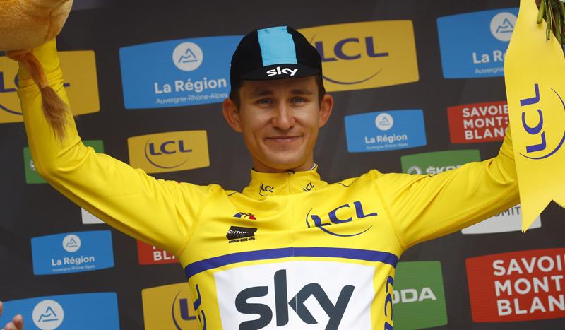 Michal Kwiatkowski, primer líder del Criterium Dauphiné 2018